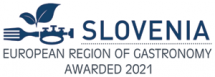 Logotip Slovenia ERG awarded 2021